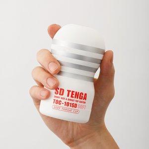 SD TENGA(白:SOFT) 人気のディープスロートにショートサイズのニュータイプ!