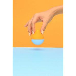 手の平サイズの女性用TENGA   iroha mini 【そらみかん】 - 拡大画像