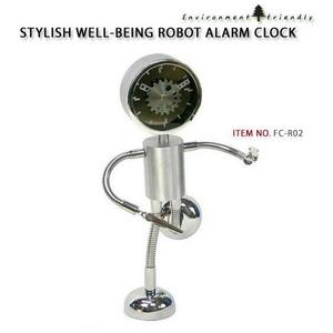 ロボット アラームクロック FC-R02 (高さ 22cm)