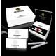 電子タバコ【E-CIGARETTE-JM】 ミドルサイズ96mm ホワイト 写真1