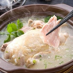 本場韓国の味・韓国宮廷料理「参鶏湯(サムゲタン)2袋」 - 拡大画像