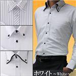 防寒ファーシャツ 3枚セット 50233 M(ホワイト系)