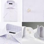 ドゥエボットーニワイシャツ(セミワイド・ボタンダウン)半袖5枚セット Lサイズ
