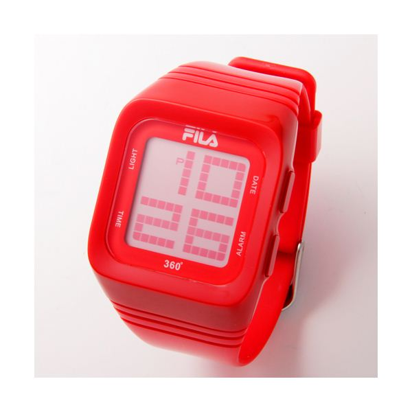 FILA(フィラ) 360゜SENSOR デジタルウォッチ FCD001-102 レッドf00