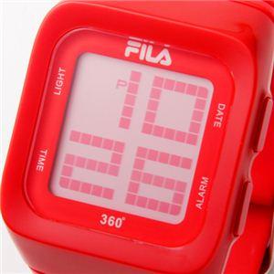FILA(フィラ) 360゜SENSOR デジタルウォッチ FCD001-102 レッド h02