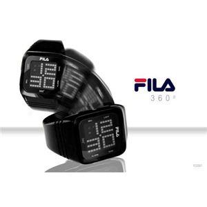 FILA(フィラ) 360゜SENSOR デジタルウォッチ FCD001-102 レッド f05