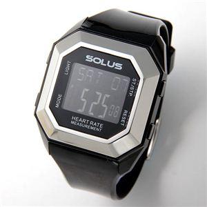 SOLUS(ソーラス) ハートレートモニター 心拍時計 01-840 01-840-01 ブラック - 拡大画像
