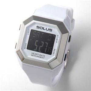 SOLUS(ソーラス) ハートレートモニター 心拍時計 01-840 01-840-02 ホワイト - 拡大画像