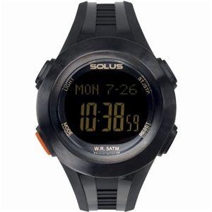 SOLUS(ソーラス) 心拍時計(ハートレートモニター) 01-101-01 - 拡大画像