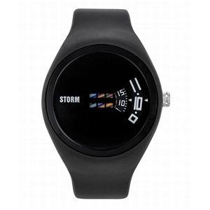 STORM(ストーム) メンズ ラバーウォッチ 47062BK - 拡大画像