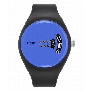 STORM(ストーム) メンズ ラバーウォッチ 47062B - 拡大画像