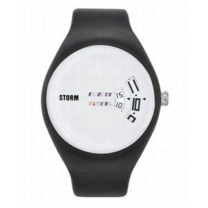 STORM(ストーム) メンズ ラバーウォッチ 47062W - 拡大画像