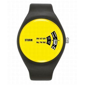 STORM(ストーム) メンズ ラバーウォッチ 47062Y - 拡大画像
