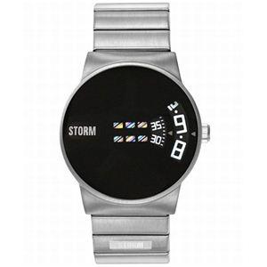 STORM(ストーム) メンズ ブレスウォッチ 4152BK - 拡大画像