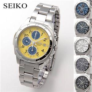 SEIKO(セイコー) 腕時計 クロノグラフ SND409 イエロー