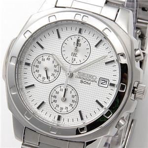 SEIKO(セイコー) 腕時計 クロノグラフ SND187P シルバー