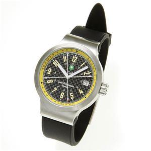 St.Gallen(セントガレン) 心拍計測時計 【A】ブラック×イエロー - 拡大画像
