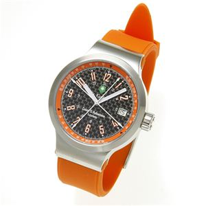 St.Gallen(セントガレン) 心拍計測時計 【A】ブラック×オレンジ - 拡大画像