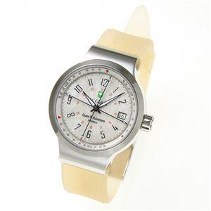 St.Gallen(セントガレン) 心拍計測時計 【A】ホワイトシェル - 拡大画像