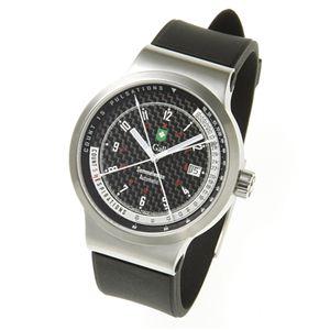 St.Gallen(セントガレン) 心拍計測時計 【B】ブラック×ホワイト - 拡大画像