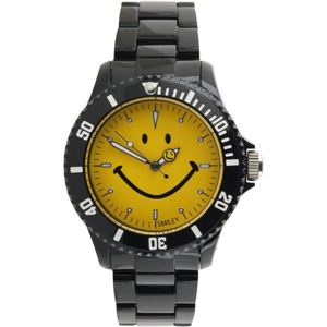SMILEY(スマイリー)腕時計 SMILEY Harvey Ball(スマイリーハーベイボール) ブラック×イエロー WGHB-OC-BKYV01 - 拡大画像