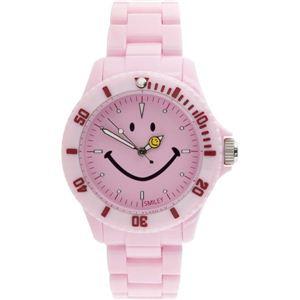 SMILEY(スマイリー)腕時計 SMILEY Harvey Ball(スマイリーハーベイボール) ピンク WGHB-PP-PKV01 h01