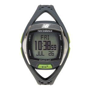 new balance(ニューバランス) 腕時計 EX2 901 心拍計測機能搭載ランニングウォッチ グレー×グリーン - 拡大画像