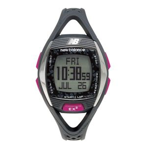 new balance(ニューバランス) 腕時計 EX2 901 心拍計測機能搭載ランニングウォッチ グレー×ピンク - 拡大画像
