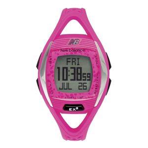 new balance(ニューバランス) 腕時計 EX2 901 心拍計測機能搭載ランニングウォッチ ピンク×ブラック - 拡大画像