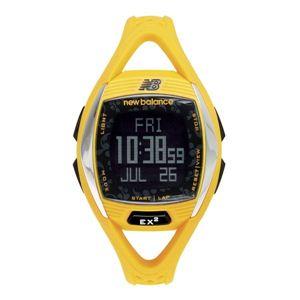 new balance(ニューバランス) 腕時計 EX2 901 心拍計測機能搭載ランニングウォッチ イエロー×ブラック - 拡大画像