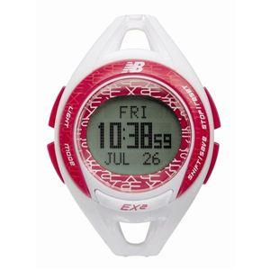 new balance(ニューバランス) 腕時計 EX2 903 ランニングウォッチ ホワイト×ピンク