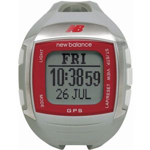 new balance(ニューバランス) 腕時計 EX2 900 GPS機能搭載 for windows ランニングウォッチ グレー×レッド - 拡大画像
