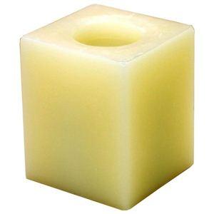 癒しのキャンドル型LEDライト フレームレスキャンドル シャンパン CA10316-CH ★高さ101mm 《バニラの香り》 - 拡大画像