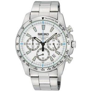 SEIKO(セイコー) 海外モデル クロノグラフ SSB025PC ホワイト - 拡大画像