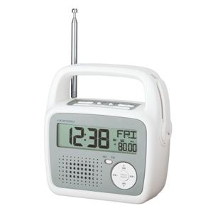 ADESSO(アデッソ) ダイナモラジオクロック C-6025 - 拡大画像