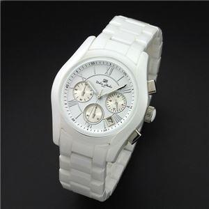 Dolce Medio(ドルチェ・メディオ) DM12201-WH ホワイト 腕時計 - 拡大画像