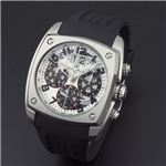 Dolce Medio(ドルチェ・メディオ) DM12203-SSWHBK ホワイト(ブラック文字)×シルバー 腕時計