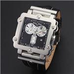 Dolce Medio(ドルチェ・メディオ) DM8018BK ブラック×シルバー&ブラック 腕時計