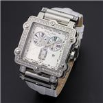 Dolce Medio(ドルチェ・メディオ) DM8018QZWHWH ホワイト×シルバー&ホワイト 腕時計