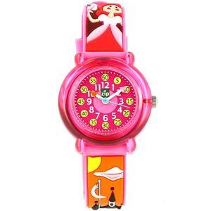 Baby Watch Paris 【ベビーウォッチ】 子供用腕時計 ベビーウォッチ ジップザップ プリンセス Z027 ピンク - 拡大画像