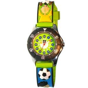 Baby Watch Paris 【ベビーウォッチ】 子供用腕時計 ベビーウォッチ ジップザップ サッカーウォッチ Z036 グリーン - 拡大画像