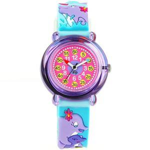 Baby Watch Paris 【ベビーウォッチ】 子供用腕時計 ベビーウォッチ ジップザップ イルカ Z037 ブルー - 拡大画像