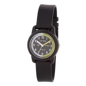 CACTUS(カクタス) キッズ腕時計 ティーチングウォッチ ブラック CAC-69-M01 ブラック×ブラック - 拡大画像