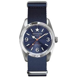 OXYGEN(オキシゲン) 腕時計 Sport 38(スポーツ38) Boston(ボストン) ブルー