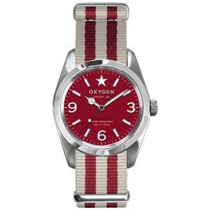 OXYGEN(オキシゲン) 腕時計 Sport 38(スポーツ38) Ruby(ルビー) レッド - 拡大画像