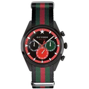 OXYGEN(オキシゲン) 腕時計 Sport DT 40(スポーツ ディーティー 40) Roma(ローマ) マルチファンクション ブラック - 拡大画像