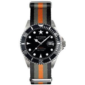 OXYGEN(オキシゲン) 腕時計 Diver 40(ダイバー 40) Amsterdam(アムステルダム) ブラック - 拡大画像