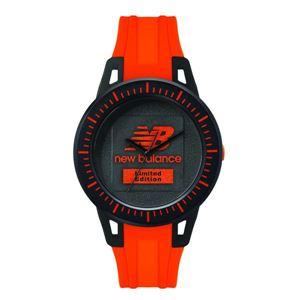 new balance(ニューバランス) 限定 腕時計 ブラック×オレンジ - 拡大画像