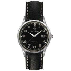 OXYGEN(オキシゲン) 腕時計 SPORT VINTAGE 40(スポーツ ヴィンテージ 40) Mamba(マンバ) Classic Leather ブラック