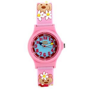 Baby Watch Paris (ベビーウォッチ) 子供用腕時計 アベセデール くま ピンク